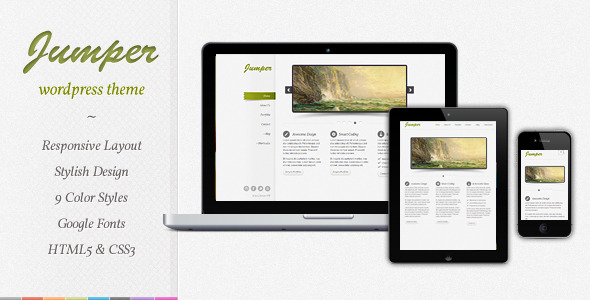 Free Download Jumper - Responsive WordPress Theme Nulled Latest Version