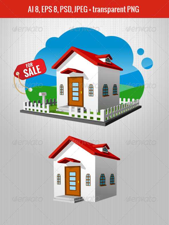 House for Sale - Buildings Objects