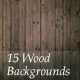 15 Wood Backgrounds - GraphicRiver Item for Sale