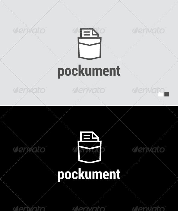 Pockument - Logo Template - Objects Logo Templates