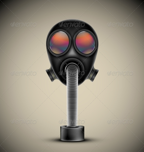 Gas Mask - Man-made Objects Objects