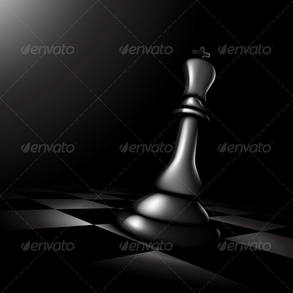 Chess King - Sports/Activity Conceptual