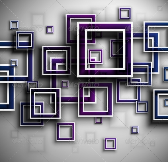 Background with Squares - Backgrounds Decorative