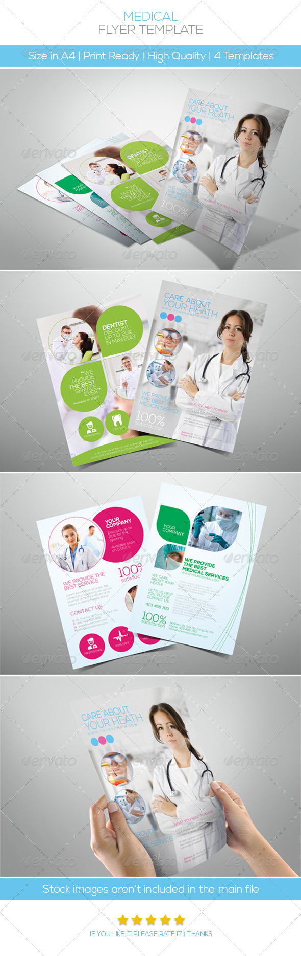 Premium Medical Flyers - Corporate Flyers