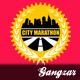 City Marathon T-Shirt Design - GraphicRiver Item for Sale
