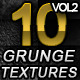10 Hi-Res Grunge textures Volume 2 - GraphicRiver Item for Sale