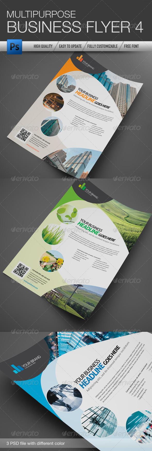 Multipurpose Business Flyer 4 - Corporate Flyers