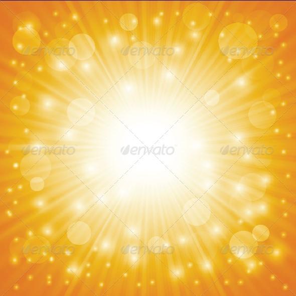 Sun Background - Backgrounds Decorative