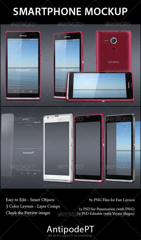 Smartphone Mockup - Xpirea - Mobile Displays