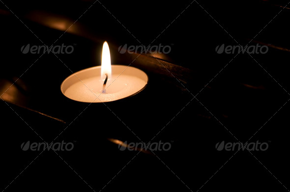 Votive Candle - Stock Photo - Images