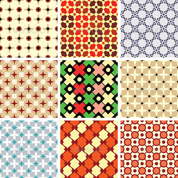 Abstract Vector Patterns - Patterns Decorative
