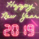 New Year Countdown 2019   Neon V3 - VideoHive Item for Sale