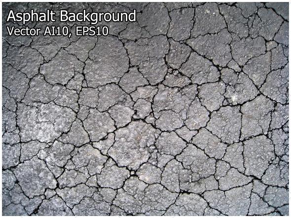Asphalt Background - Backgrounds Decorative