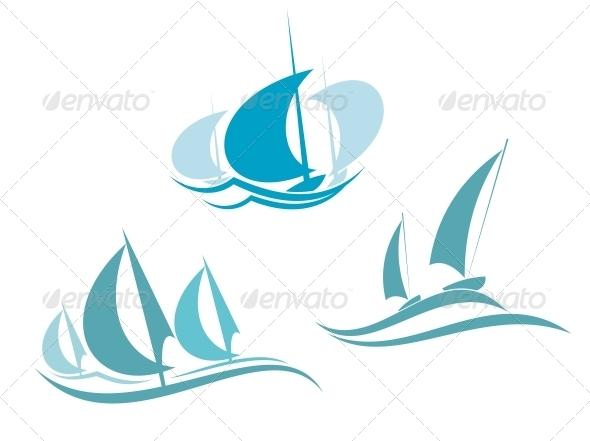 Yachts and Sailboats - Sports/Activity Conceptual