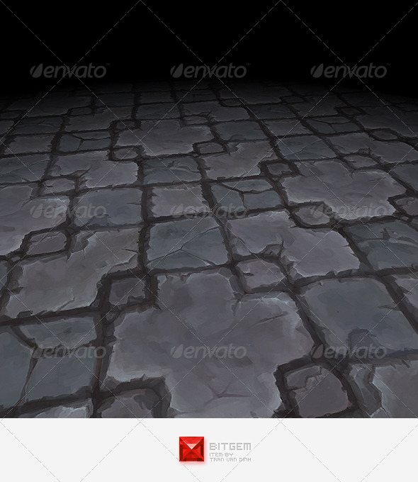 Floor Texture Tile 15 - 3DOcean Item for Sale
