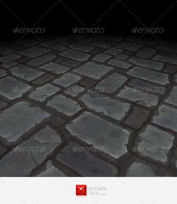 Floor Texture Tile 16 - 3DOcean Item for Sale