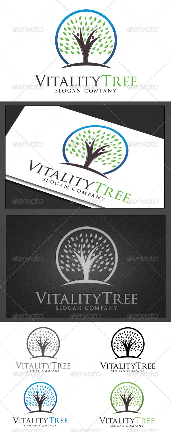 Vitality Tree - Logo Templates