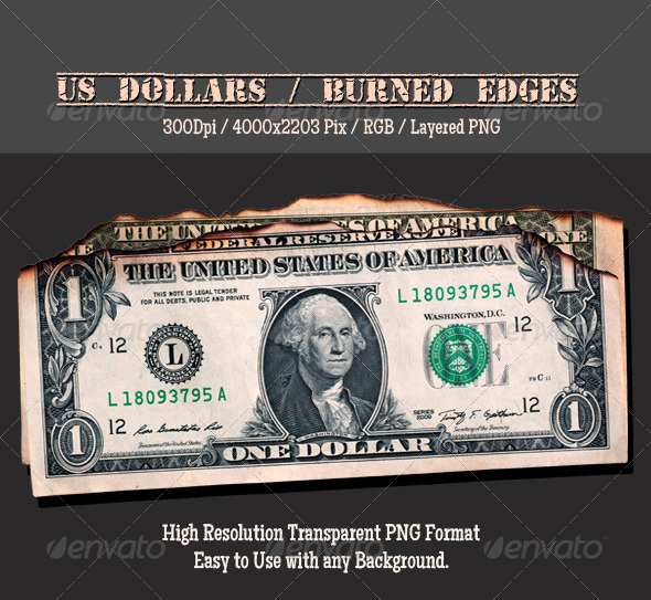 Doller burned  - Miscellaneous Isolated Objects