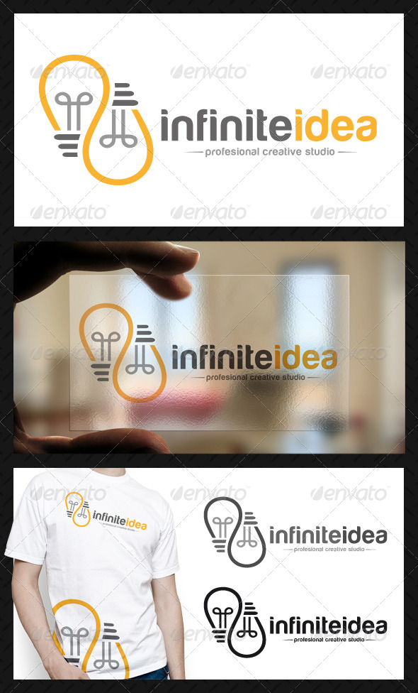 Infinite Idea Logo Template - Symbols Logo Templates