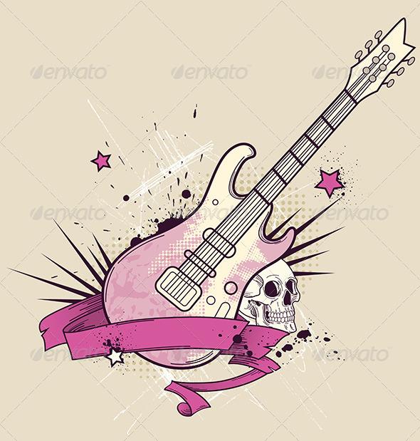 Rock Music Background - Miscellaneous Vectors
