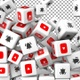 Social Media Icons Transition - Youtube and Bell - Version 2 - VideoHive Item for Sale