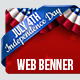 July 4th Web Banners - GraphicRiver Item for Sale