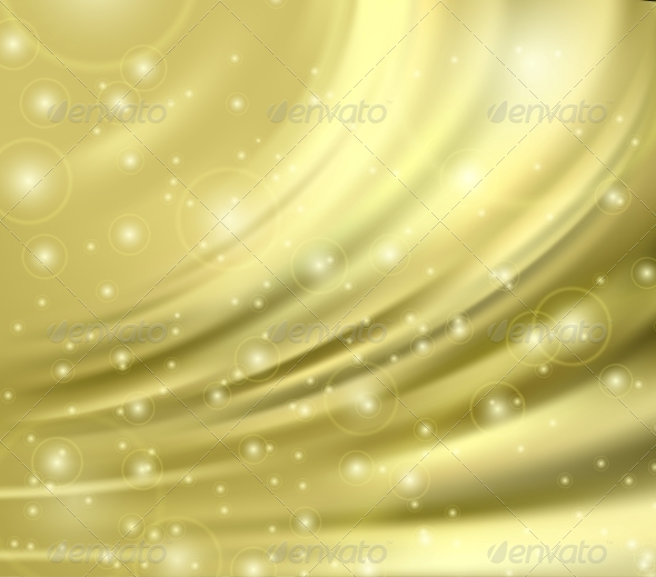 Gold Silk Background - Backgrounds Decorative