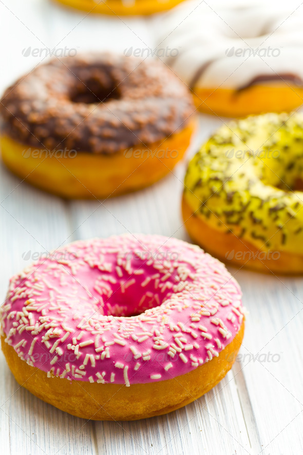 various donuts - Stock Photo - Images