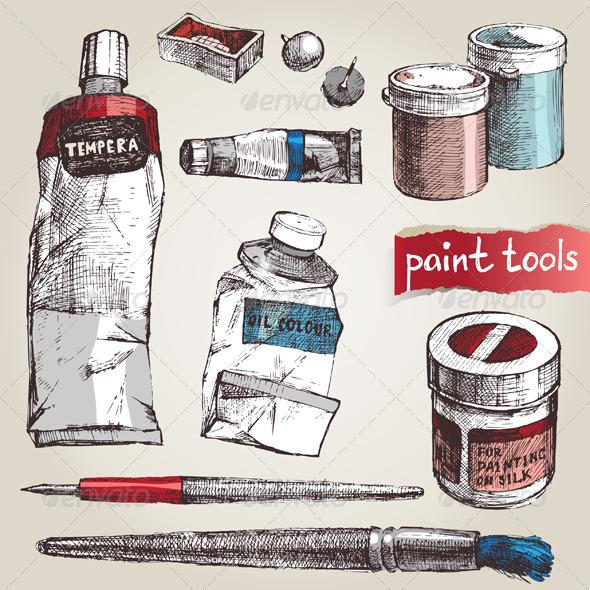 Paint Tools - Retro Technology