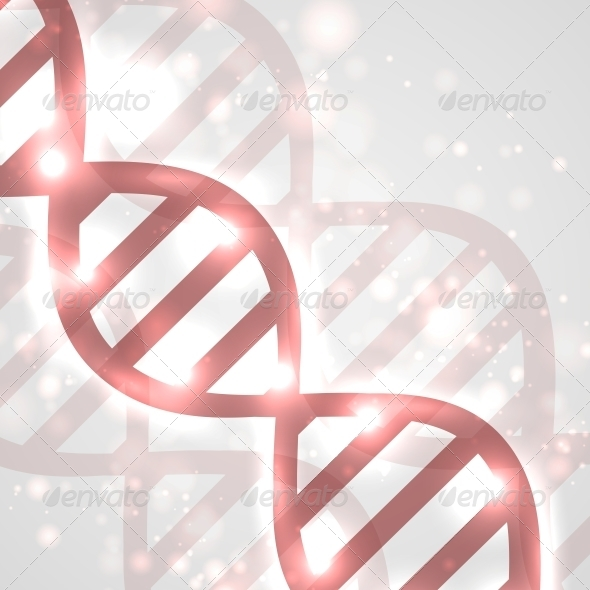 Abstract DNA - Health/Medicine Conceptual