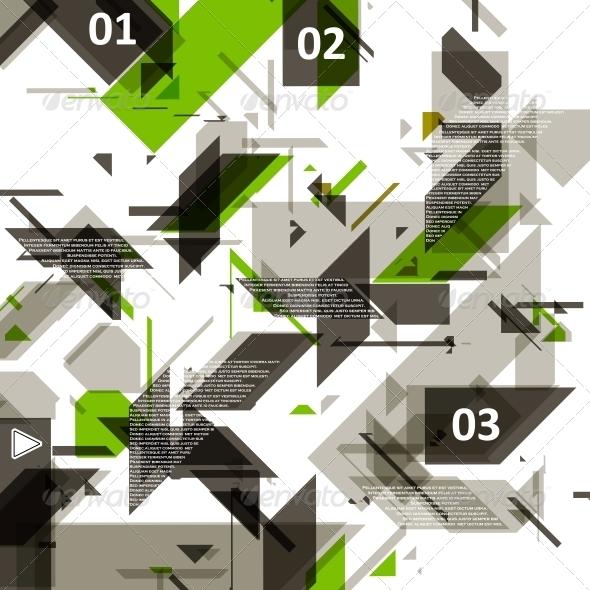High Tech Design for Infographics. - Web Technology