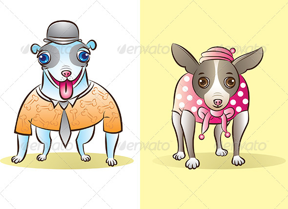 Dogs - Animals Characters