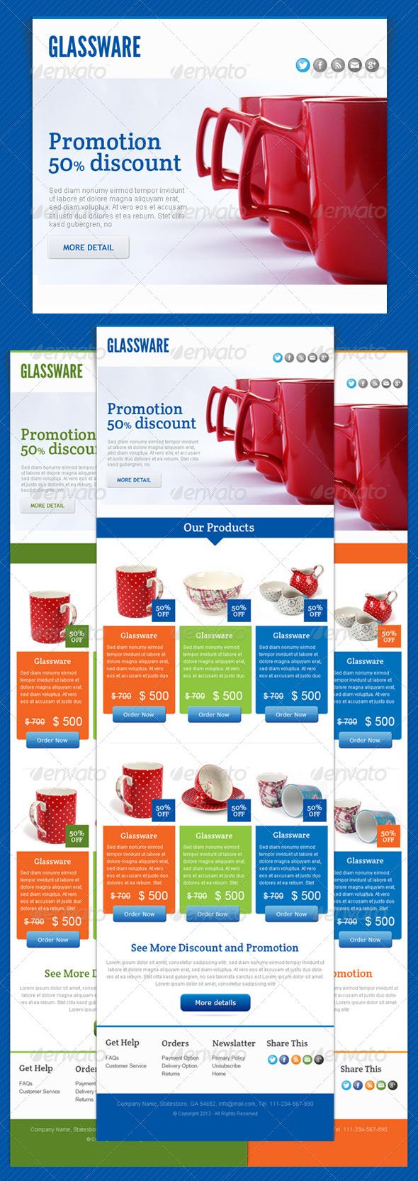 Glassware - E-newsletters Web Elements