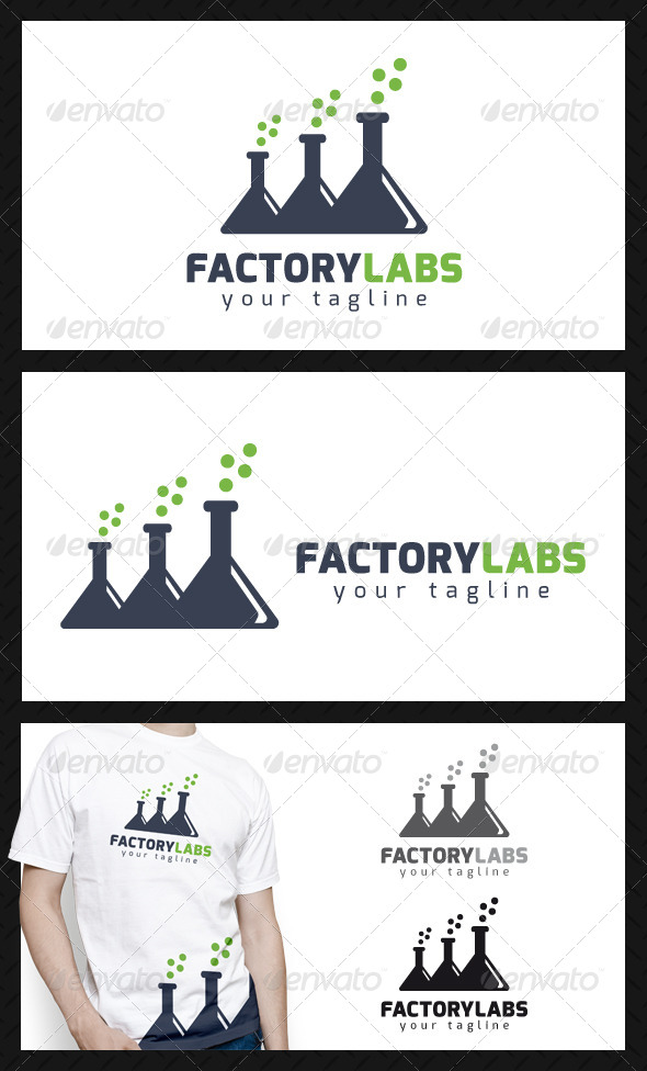 Factory Labs Logo Template - Objects Logo Templates