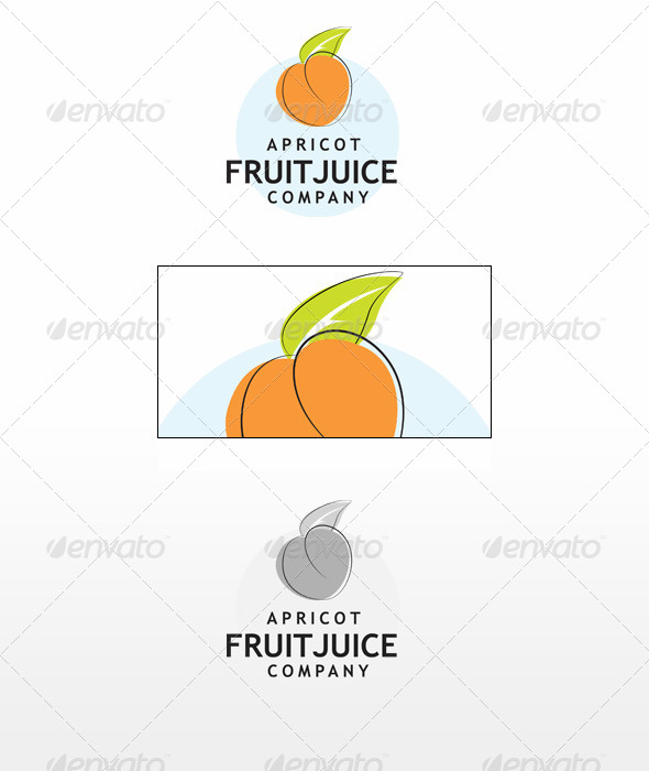 Apricot - Nature Logo Templates