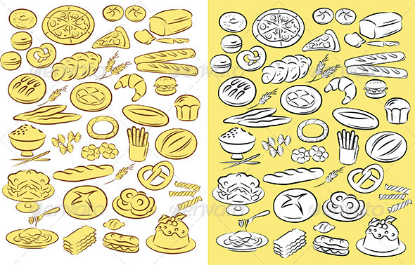 Bakery - Food Objects