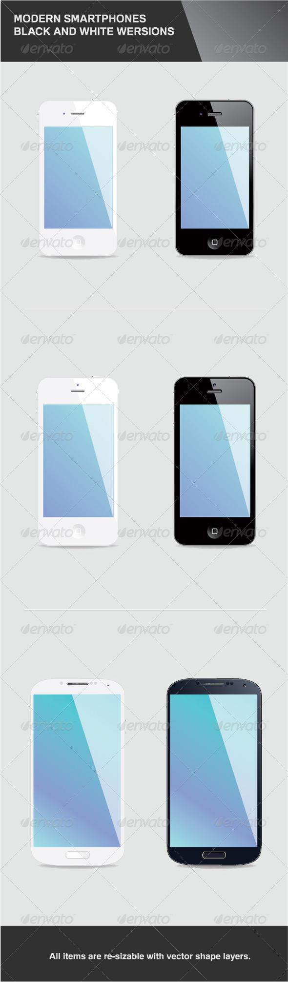 6 Modern Smartphones - Communications Technology