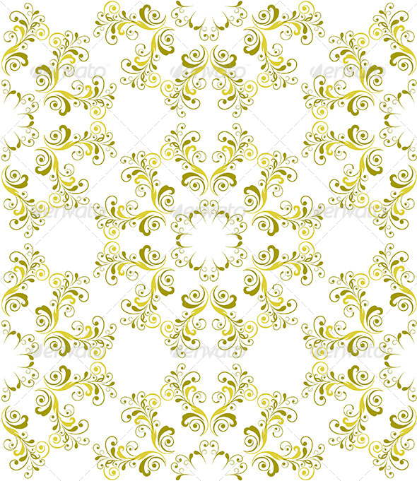 Seamless Foral Pattern - Patterns Decorative