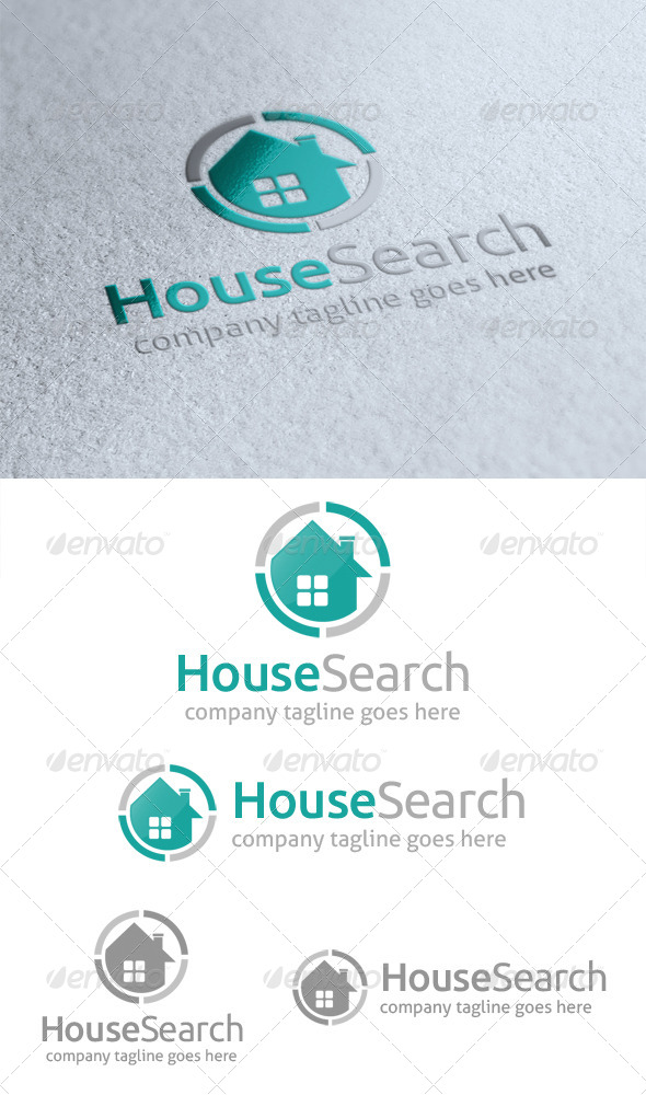 House Search Logo - Buildings Logo Templates