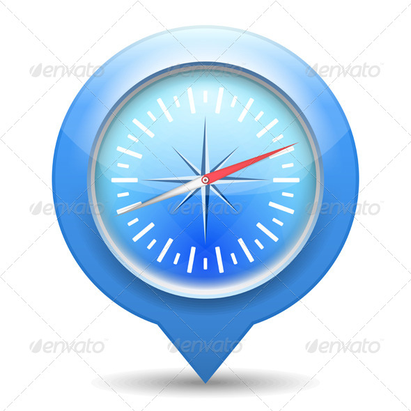 Compass Icon - Web Elements Vectors