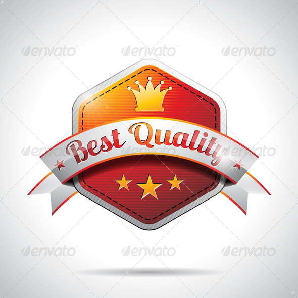 Best Quality Labels Illustration - Concepts Business