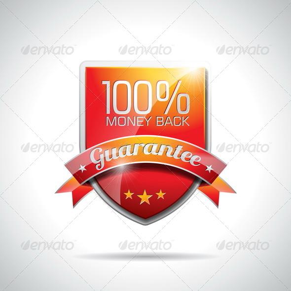 Guarantee Labels Illustration - Web Technology