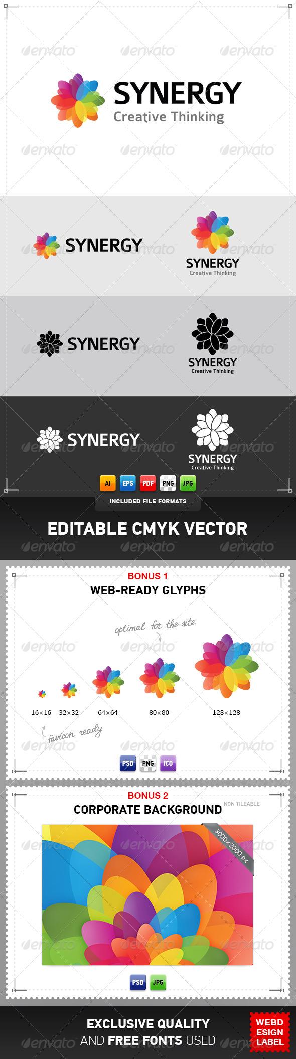 Synergy Logo - Abstract Logo Templates