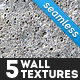 5 Seamless Wall Textures - GraphicRiver Item for Sale