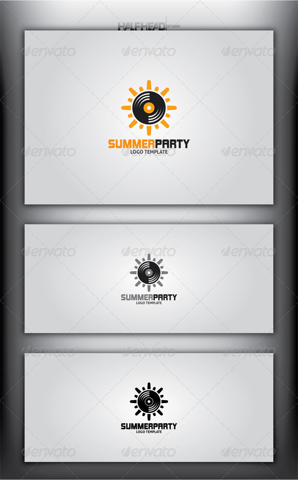 SummerParty Logo Template - Objects Logo Templates