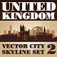 Vector City Skyline. United Kingdom. Set Number 2 - GraphicRiver Item for Sale