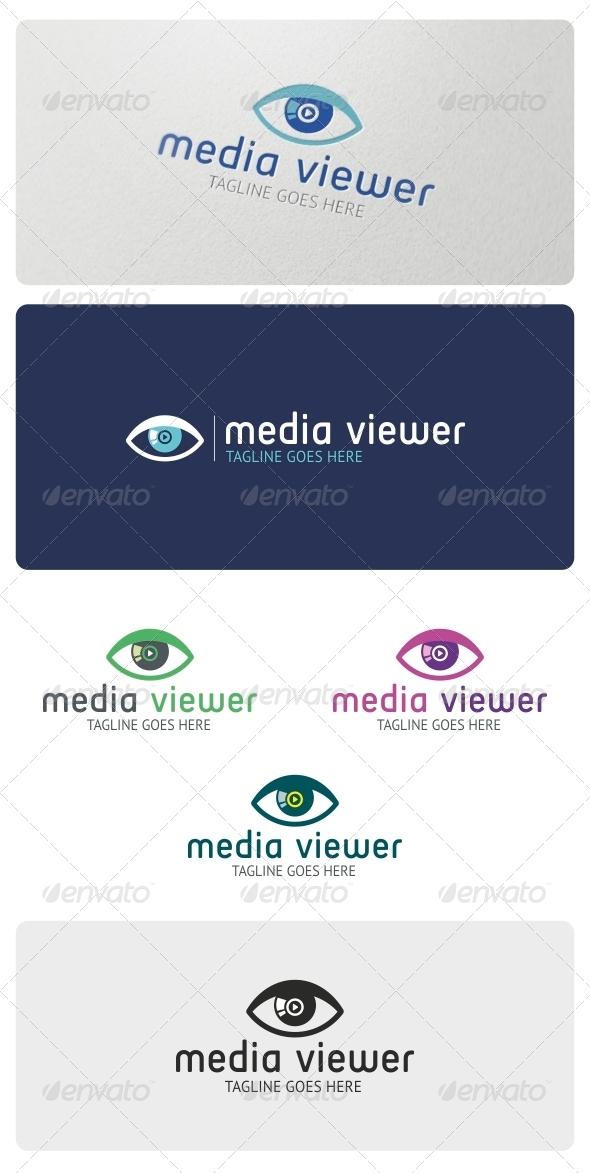 Media Viewer Logo Template - Symbols Logo Templates
