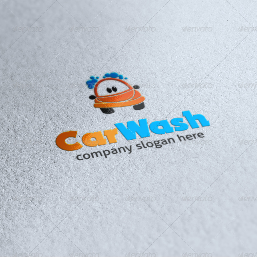 Car Wash Logo by dean70 | GraphicRiver