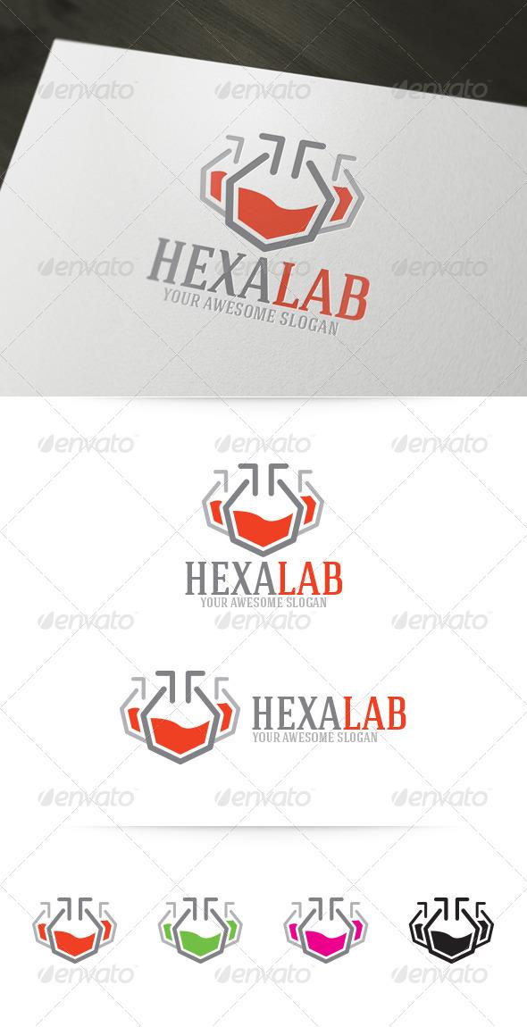 Hexa Lab Logo - Objects Logo Templates