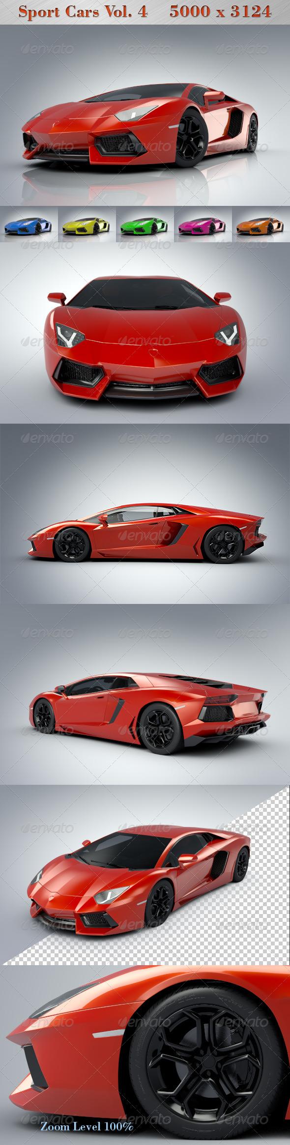 Sport Cars Vol.4 - 3D Backgrounds